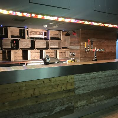 Smirnoff Bar fit out